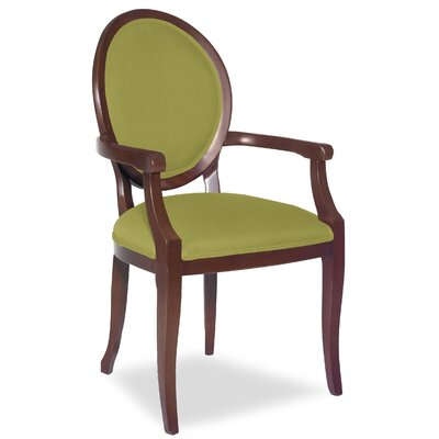 Divine Kayla Arm Chair Upholstery: Me Pear