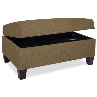 Mondo Upholstered Storage Ottoman Upholstery: Stone