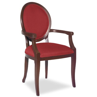 Divine Kayla Arm Chair Upholstery: Me Ruby