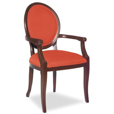 Divine Kayla Arm Chair Upholstery: Me Tangerine