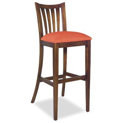 Divine Bar Stool Upholstery: Me Tangerine