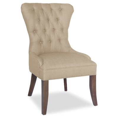 Divine Lauren Marie Side Chair Upholstery: Me Linen