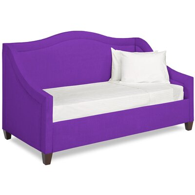 Dreamtime Daybed with Mattress Size: Twin, Color: Eggplant
