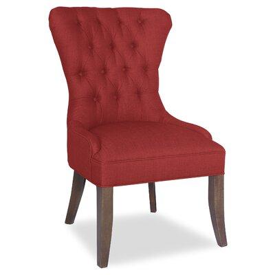 Divine Lauren Marie Parsons Chair Upholstery: Me Ruby
