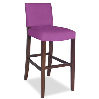 Divine Bar Stool Upholstery: Found Radiant Orchid