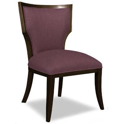 Divine Ashley Side Chair Upholstery: Me Chestnut