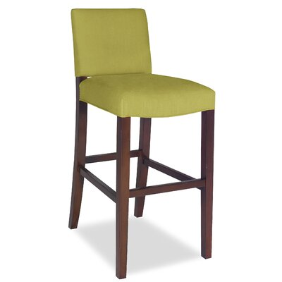 Divine Bar Stool Upholstery: Me Pear