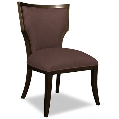 Divine Ashley Side Chair Upholstery: Me Chocolate
