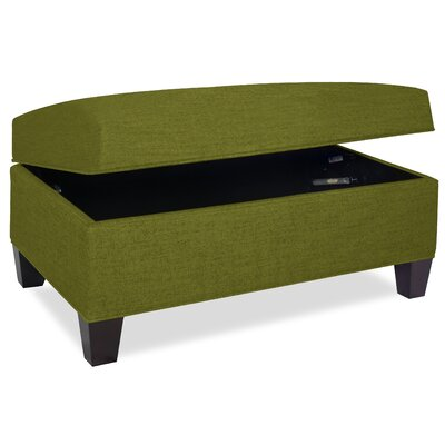 Mondo Upholstered Storage Ottoman Upholstery: Grass