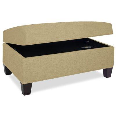 Mondo Upholstered Storage Ottoman Upholstery: Beige