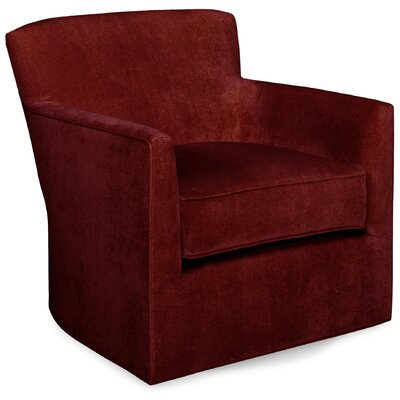 Rowan Swivel Armchair Upholstery: Cherry
