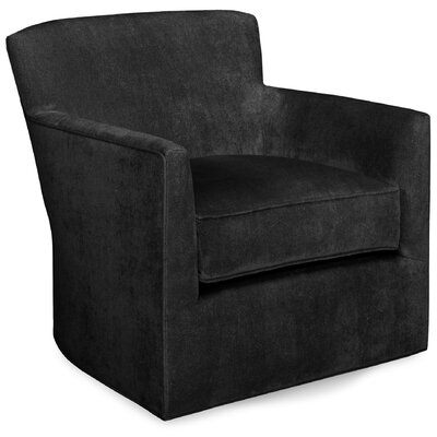 Rowan Swivel Lounge Chair Color: Dark Ash