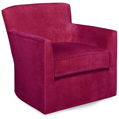 Rowan Swivel Lounge Chair Color: Fuchsia