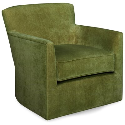 Rowan Swivel Lounge Chair Color: Grass