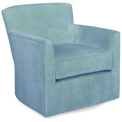 Rowan Swivel Lounge Chair Color: Sky