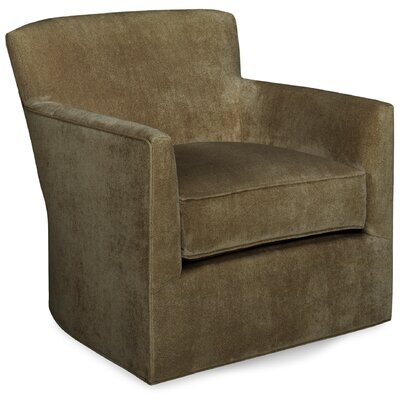 Rowan Swivel Glider Lounge Chair Color: Stone