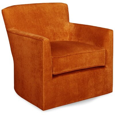 Rowan Swivel Glider Lounge Chair Color: Tangelo