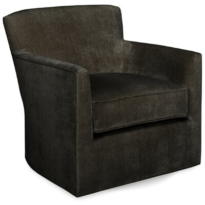Rowan Swivel Lounge Chair Color: Truffle