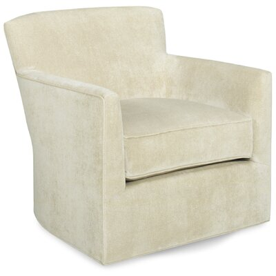 Rowan Swivel Lounge Chair Color: Cream