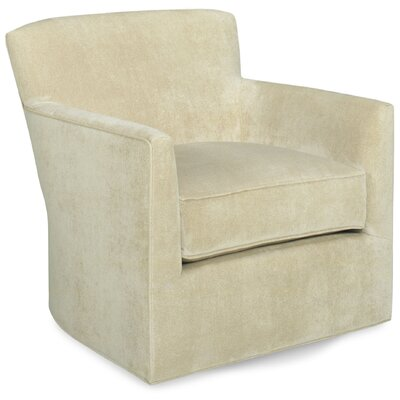Rowan Swivel Lounge Chair Color: Beige