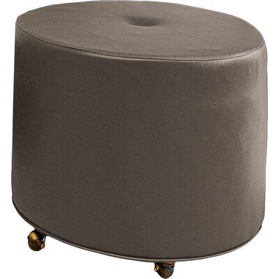 Mondo 24 Upholstered Round 1-Button Ottoman Upholstery: Truffle