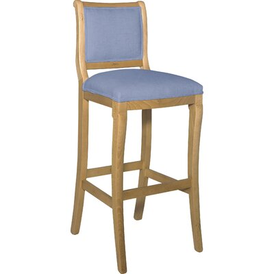 Divine 36.5 Bar Stool Upholstery: Found Air