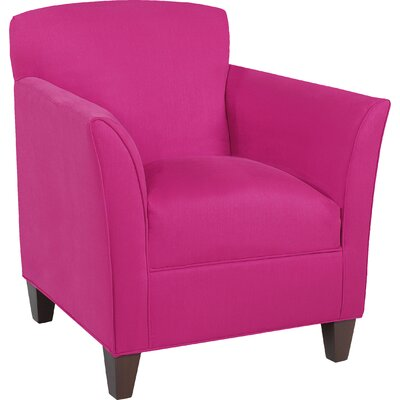 City Spaces Broadway Armchair Upholstery: Fuchsia