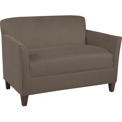 City Spaces Broadway Loveseat Upholstery: Truffle