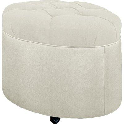 Mondo Ottoman Upholstery: Cream