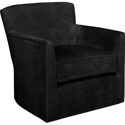 Rowan Glider Swivel Armchair Upholstery: Onyx
