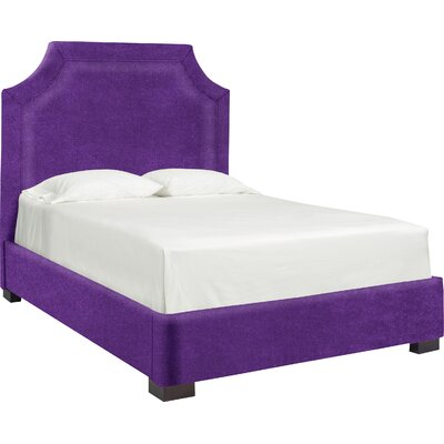 Dreamtime Upholstered Panel Bed Size: Queen, Color: Eggplant
