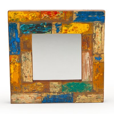 Wish Craft Reclaimed Wood Mirror image
