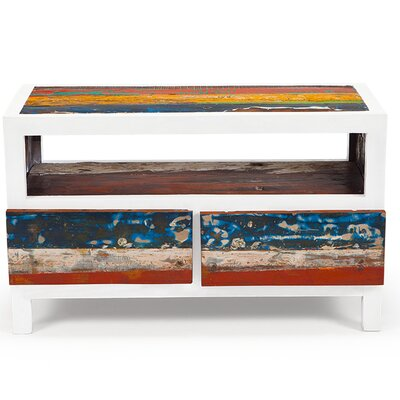 Cruise Control Reclaimed Wood 40 TV Stand