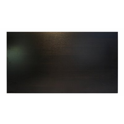 Midtown Table Top Size: 60 W x 30 D, Color: Espresso