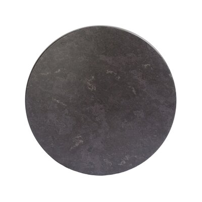SoHo Table Top Size: 24 W x 24 D, Color: Gray Slate