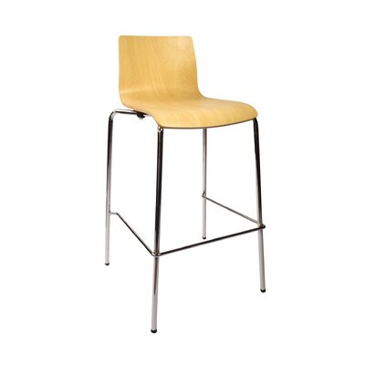 Rita 29.5 Bar Stool Upholstery: Natural