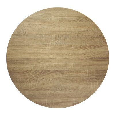 Midtown Table Top Size: 24 W x 24 D, Color: Sawmill Oak