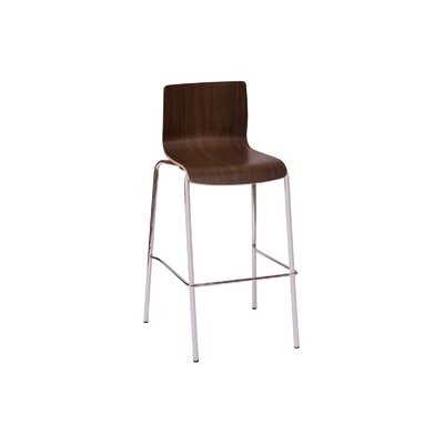 Rita 29.5 Bar Stool Upholstery: Walnut