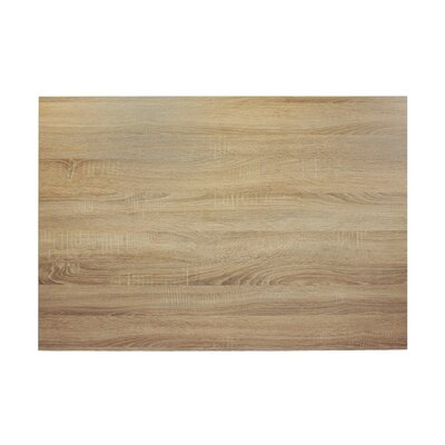Midtown Table Top Size: 42 W x 30 D, Color: Sawmill Oak