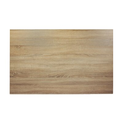 Midtown Table Top Finish: Sawmill Oak, Size: 48 W x 30 D