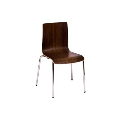Rita Side Chair Finish: Walnut