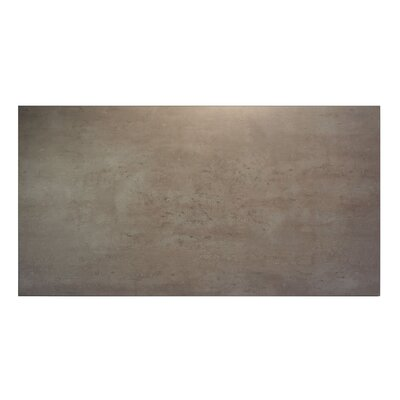 Midtown Table Top Size: 60 W x 30 D, Finish: Concrete