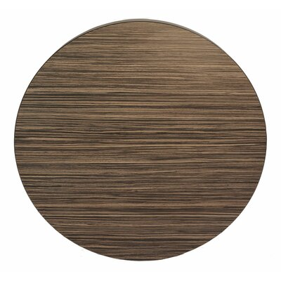 Midtown Table Top Size: 24 W x 24 D, Finish: Safari