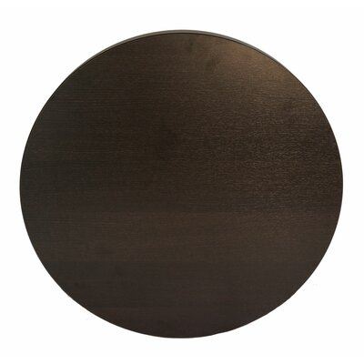 Midtown Table Top Size: 24 W x 24 D, Color: Espresso