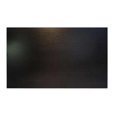 Midtown Table Top Size: 48 W x 30 D, Color: Espresso