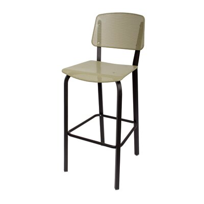Devon 31.5 inch Bar Stool Upholstery: Light Sage