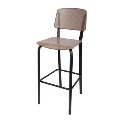 Devon 31.5 inch Bar Stool Upholstery: Taupe