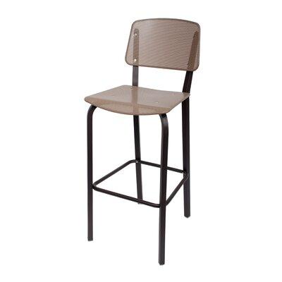 Devon 31.5 Bar Stool Upholstery: Taupe
