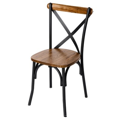 Henry Solid Wood Dining Chair Finish: Rustic