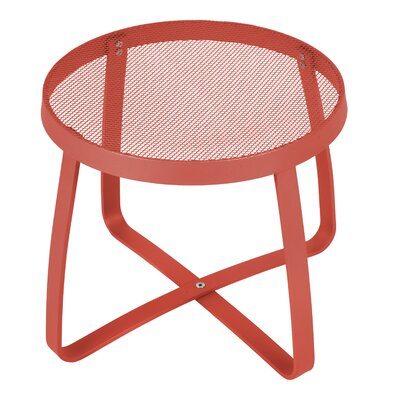 Maze Lounge Side Table Finish: Grenadine